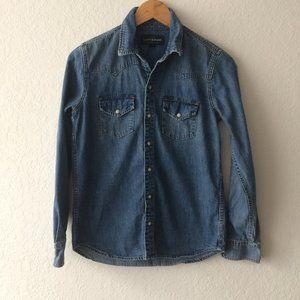 Lucky Brand Vintage Denim Shirt